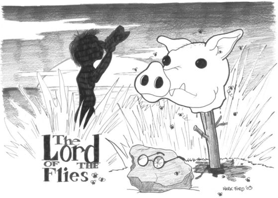 LORD OF THE FLIES SUMMARY CHAPTER 8