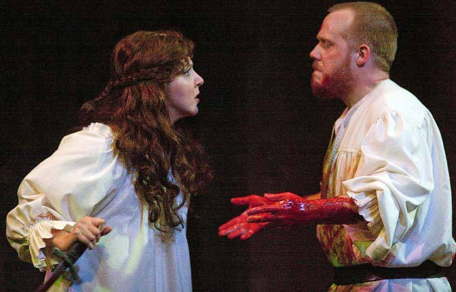 blood imageries that cause mental deterioration of the couple in macbeth Macbeth's hallucinations affect his mental stability, but his greed for power is the tipping point of his mental deterioration macbeth's thirst for power causes him to commit the act of murder three times during the play, and his greediness for power causes his demise.